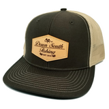 DSF Leather Patch Logo Snapback Mesh Trucker Caps
