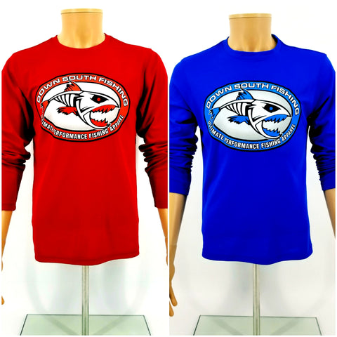 DSF Logo Premium Long Sleeve Performance Tees