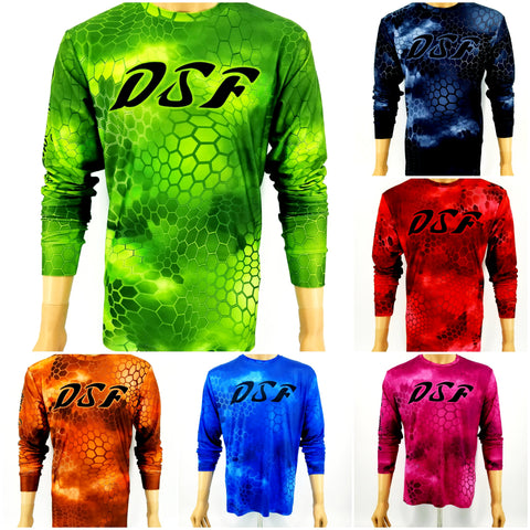 DSF Illusion Jersey Feel Performance Fishing Shirts