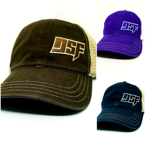 NEW! DSF Vintage Snap Back Cap