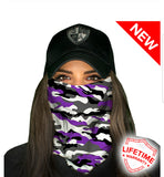 SA Fishing Face Shields - Camo - DSF Apparel - Down South Fishing -Ultimate Performance Fishing Apparel