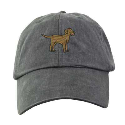 Chocolate Lab Baseball Hat - Embroidered. Chocolate Lab Mom Baseball Hat Cap.  Chocolate Lab Mom Dad Gifts.  Chocolate Labrador Gifts. LP101 - Whynotstopnshop.com
