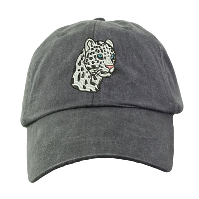 Leopard Hat - Embroidered. Leopard Cap. Zoo Animal Hat. Adjustable Leather Strap. More Colors. HER-LP101 - Whynotstopnshop.com