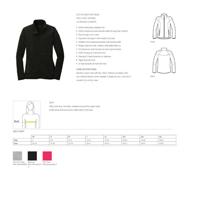 Dental Assistant Full Zip Jacket. Dental Hygienist Zip Up Jacket. EFDA Jacket. RDA Jacket. ENDURANCE Ladies Origin Jacket. LOE503. - Whynotstopnshop.com