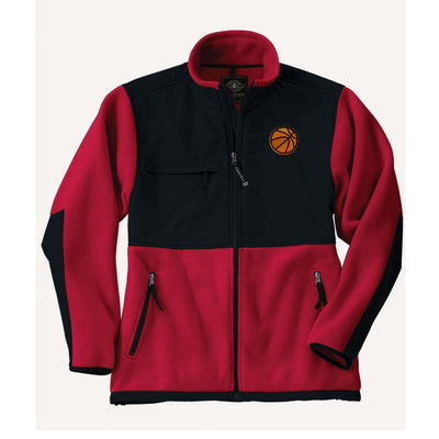 Basketball Embroidered 8931 | Youth Evolux® Fleece Jacket. CR Fleece Jacket - Whynotstopnshop.com
