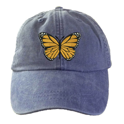 Butterfly Baseball Hat.  Ladies Butterfly Hat Cap.  Butterfly Gifts.  Love Butterflies. Cool Mesh Lining & Adjustable Strap. HER-LP101 - Whynotstopnshop.com