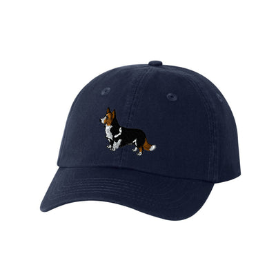 Corgi Dog Breed  Embroidered Hat Unisex  Corgi Embroidered Hat Baseball Cap. Corgi Adjustable With Tri-Glide Buckle. 36 Colors VC300A - Whynotstopnshop.com