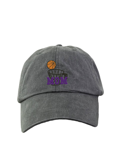 Basketball Mom Hat - Embroidered Sports Hat. Baseball Hat. Adjustable Leather Strap. 15 Colors Avail. HER-LP101 - Whynotstopnshop.com