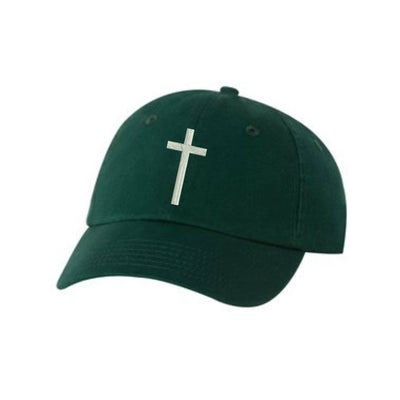 Cross Embroidered Hat Unisex. Cross Embroidered Hat Baseball Cap.  Adjustable With Tri-Glide Buckle. 36 Colors VC300A - Whynotstopnshop.com