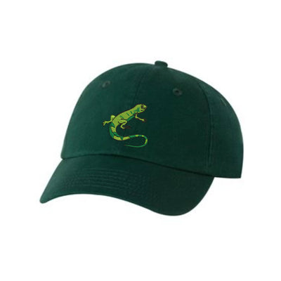Iguana Embroidered Hat Unisex. Embroidered Hat Baseball Cap.  Adjustable With Tri-Glide Buckle. 36 Colors VC300A - Whynotstopnshop.com