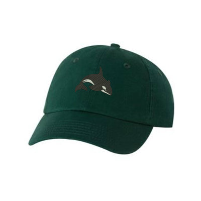 Killer Whale Embroidered Hat Unisex. Embroidered Hat Baseball Cap.  Adjustable With Tri-Glide Buckle. 36 Colors VC300A - Whynotstopnshop.com