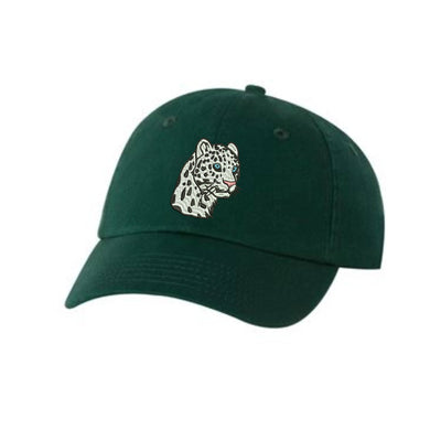 Leopard Embroidered Hat Unisex. Embroidered Hat Baseball Cap.  Adjustable With Tri-Glide Buckle. 36 Colors VC300A - Whynotstopnshop.com