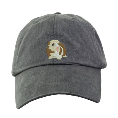 Guinea Pig Embroidered  Baseball Hat. Cool Mesh Lining & Adjustable Strap. 33 Colors Avail. HER-LP101 - Whynotstopnshop.com