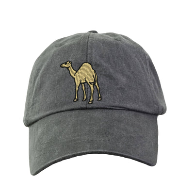 Camel Embroidered  Baseball Hat. Cool Mesh Lining & Adjustable Strap. 33 Colors Avail. HER-LP101 - Whynotstopnshop.com