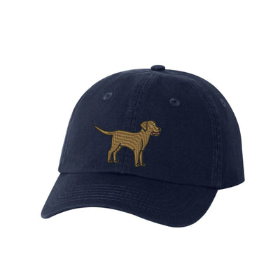 Chocolate Lab Breed  Embroidered Hat Unisex  Embroidered Hat Baseball Cap.  Adjustable With Tri-Glide Buckle. 36 Colors. VC300A - Whynotstopnshop.com