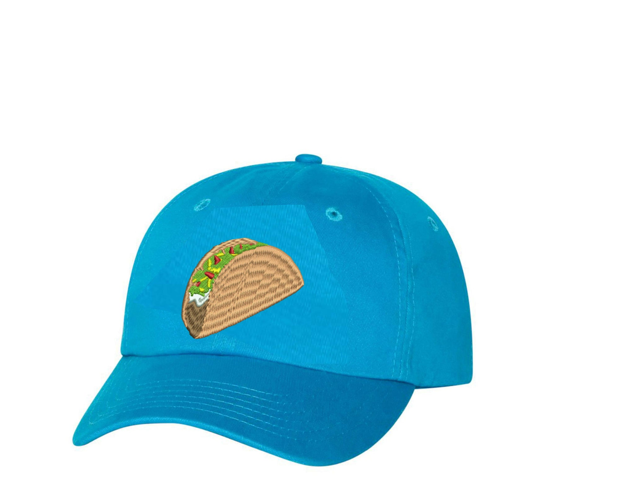 Taco Food Lover Hat Taco Embroidered Hat Unisex Embroidered Hat Baseball Cap.  Adjustable With Tri 5328a18d891