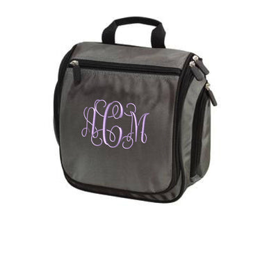 Monogram  Personalized Port Authority® Hanging Toiletry Kit. Bridesmaid Gift. Travel Toiletry Bag. Embroidered-BG700 - Whynotstopnshop.com