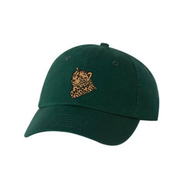 Cheetah Embroidered Hat Unisex  Big Cat Embroidered Hat Baseball Cap.  Adjustable With Tri-Glide Buckle. 36 Colors VC300A - Whynotstopnshop.com