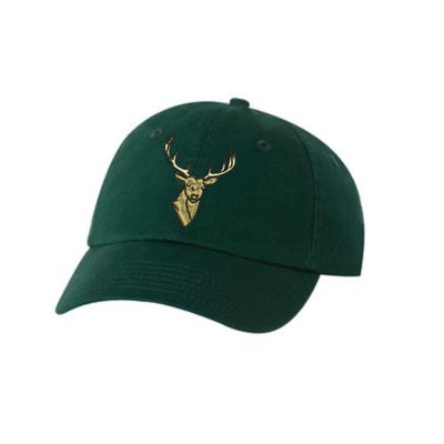 Big Buck Deer Head  Embroidered Hat Unisex  Buck Embroidered Hat Baseball Cap.  Adjustable With Tri-Glide Buckle. 36 Colors VC300A - Whynotstopnshop.com