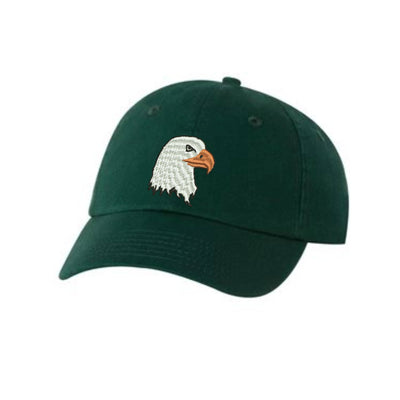 Eagle Head Embroidered Hat Unisex. Embroidered Hat Baseball Cap.  Adjustable With Tri-Glide Buckle. 36 Colors VC300A - Whynotstopnshop.com