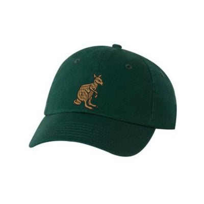 Kangaroo Embroidered Hat Unisex. Embroidered Hat Baseball Cap.  Adjustable With Tri-Glide Buckle. 36 Colors VC300A - Whynotstopnshop.com