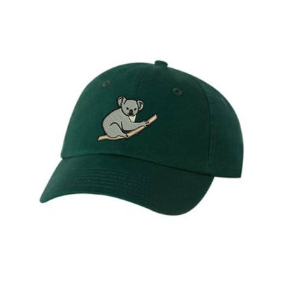 Koala Bear Baseball Hat - Embroidered. Koala Bear Gifts. Koala Zoo Cap.  Love Koala Bears. Adult Koala Bear Hat. Koala Bear Lover. VC300A - Whynotstopnshop.com