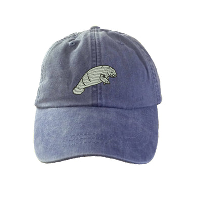 Dugong Embroidered  Baseball Hat. Cool Mesh Lining & Adjustable Strap. 33 Colors Avail. HER-LP101 - Whynotstopnshop.com