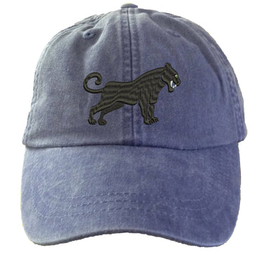 Black Panther Embroidered  Baseball Hat. Cool Mesh Lining & Adjustable Strap. 33 Colors Avail. HER-LP101 - Whynotstopnshop.com