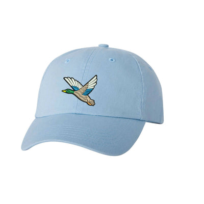 Mallard Duck  Embroidered Hat Unisex gator Embroidered Hat Baseball Cap.  Adjustable With Tri-Glide Buckle. 36 Colors VC300A - Whynotstopnshop.com