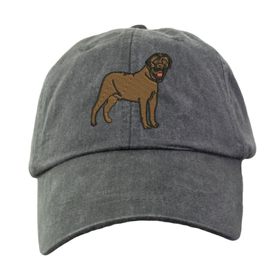 Mastiff Baseball Hat - Embroidered. Mastiff Mom Baseball Hat.  Mastiff Dad Baseball Hat.  Mastiff Mom Dad Gifts.  Unisex Mastiff Hat. LP101 - Whynotstopnshop.com