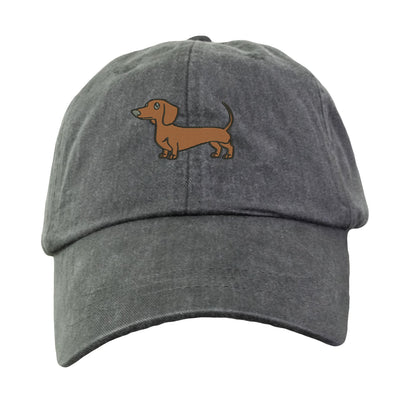 Dachshund Baseball Hat - Embroidered. Dachshund Mom Hat.  Dachshund Dad Hat. Dachshund Cap. Dachshund Mom Gifts. Dachshund Dad. HER-LP101 - Whynotstopnshop.com