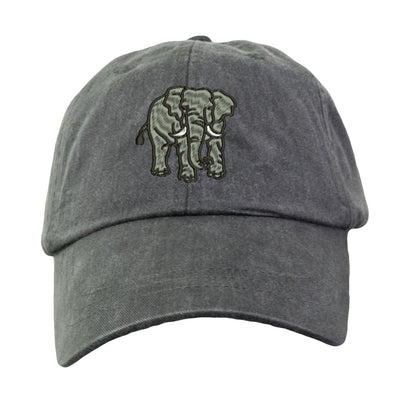 Elephant Hat - Embroidered. Embroidered Elephant Hat. Adjustable Leather Strap. More Colors Avail. HER-LP101 - Whynotstopnshop.com