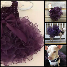 Load image into Gallery viewer, Alteration service retailoring baby and toddler wedding bridesmaid flower girl fancy party dresses to correctly fit your dog