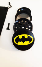 Load image into Gallery viewer, $19.99 Batman Grinder Black Grinder Black  Smoking Tool Grinder Tool 2.1 inch
