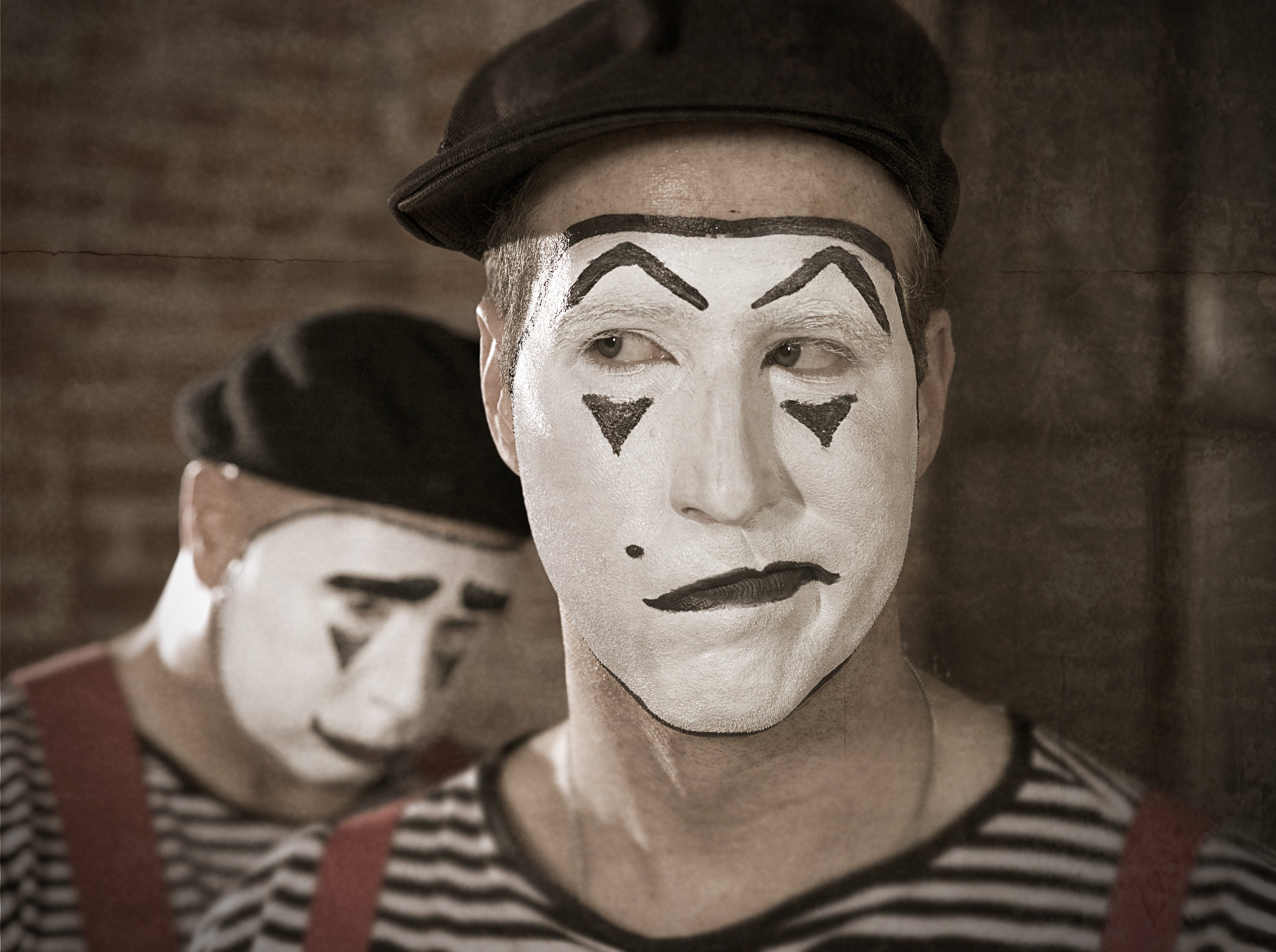 Clowns, Comedians And Mimes