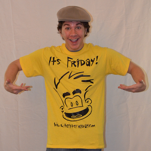 Friday T-shirt; TGIF T-shirt; Thank Goodness It's Friday shirt