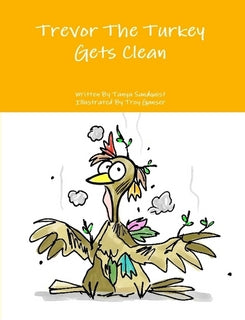 Trevor The Turkey Gets Clean