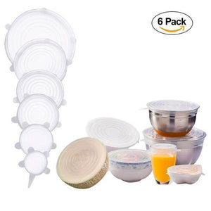 6-Pieces Couvercles De Bol Silicone ORIGINAL