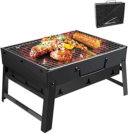 Barbecue au charbon de bois pliable portable -Rectangle