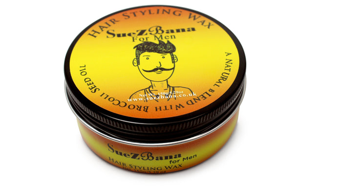 Hair Styling Wax for Men with Broccoli Seed Oil Organic