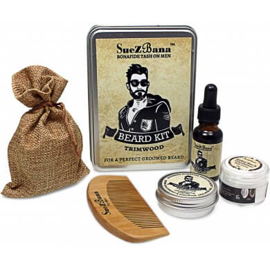 Beard Grooming Kit Gift Sets Organic Range  Trimwood