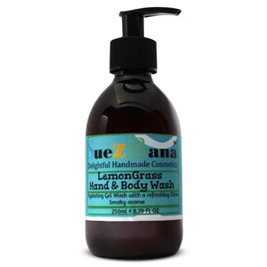 Lemongrass body wash