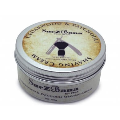 Shaving Cream For Men  Cedarwood & Patchouli  150g