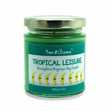 Soy Candles UK Tropical Leisure 180g