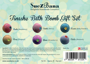 bath bomb gift sets ingredients