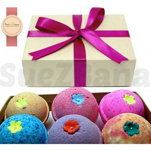 bath bomb gift sets of 6  suezbana