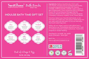 bath bomb gift sets series 2 ingredients