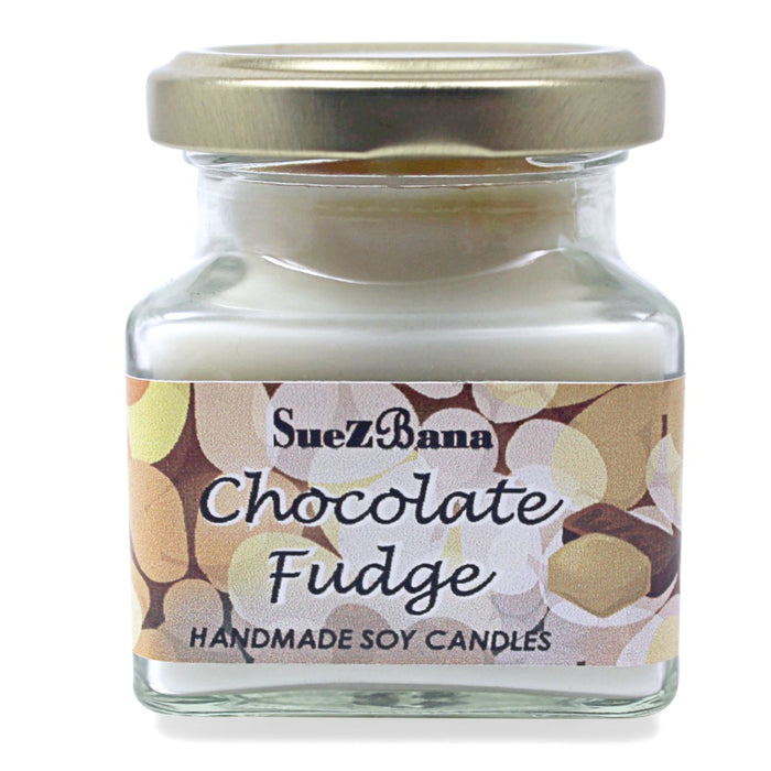 SUEZBANA HANDMADE SOY FRAGRANCE CANDLES 100G/3.5OZ Chocolate fudge