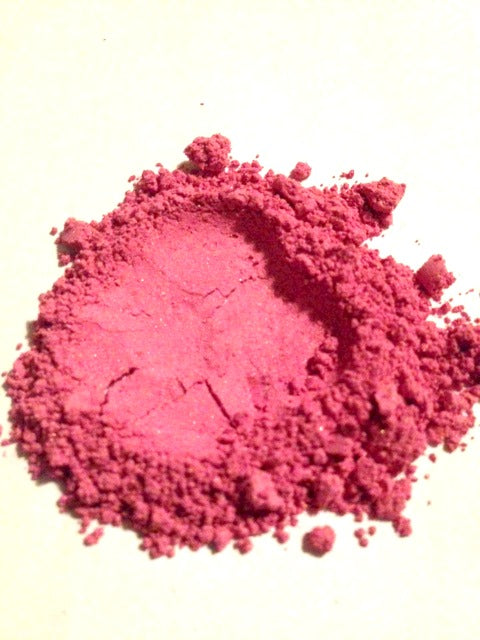 Mineral Blush Makeup Fuchsia Pink Sample