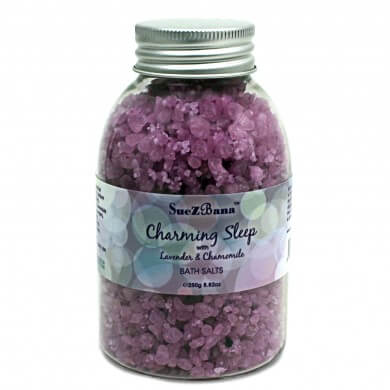 Lavender Bath Salts with Chamomile